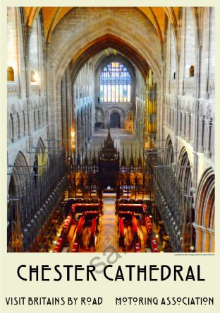 Interior - Chester Cathedral